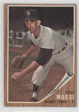1962 Topps #105 - Don Mossi