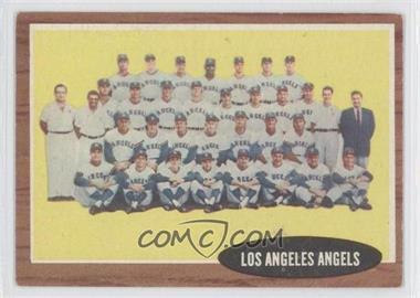 1962 Topps #132 - Los Angeles Angels Team
