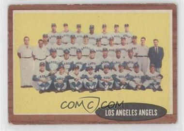 1962 Topps #132 - Los Angeles Angels Team