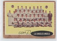 Los Angeles Angels Team (Green Tint) [Good to VG‑EX]