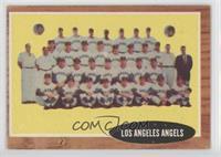 Los Angeles Angels Team Green Tint