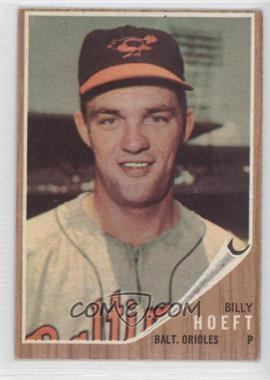 1962 Topps #134.2 - Billy Hoeft (Green Tint)