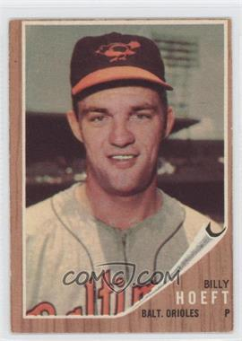 1962 Topps #134G - Billy Hoeft (Green Tint)
