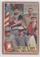 Babe as a Boy (Babe Ruth) [Poor]