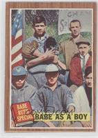 Babe as a Boy (Babe Ruth)