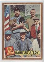 Babe as a Boy (Babe Ruth) [GoodtoVG‑EX]