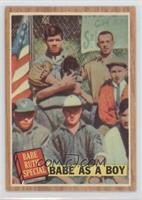 Babe as a Boy (Babe Ruth) (Green Tint)