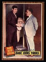 Babe Joins Yanks (Babe Ruth) [EX]
