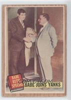 Babe Joins Yanks (Babe Ruth) (Green Tint) [GoodtoVG‑EX]