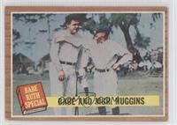 Babe and Mgr. Huggins (Babe Ruth) [GoodtoVG‑EX]