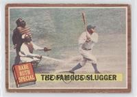 The Famous Slugger (Babe Ruth) [Good to VG‑EX]