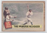 The Famous Slugger (Babe Ruth) (Green Tint)