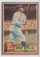 Babe Hits 60 (Babe Ruth) [GoodtoVG‑EX]