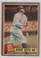 Babe Hits 60 (Babe Ruth) (No Pole)
