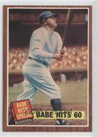 Babe Hits 60 (Babe Ruth)