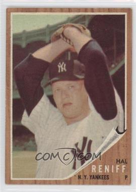 1962 Topps #139.4 - Hal Reniff (Green Tint)