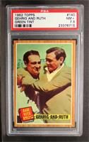 Babe Ruth Special (Lou Gehrig, Babe Ruth) (Green Tint) [PSA 7.5]