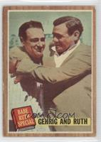 Babe Ruth Special (Lou Gehrig, Babe Ruth) (Green Tint) [Poor to Fair]