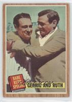 Babe Ruth Special (Lou Gehrig, Babe Ruth) Green Tint [Good to VG&#820…