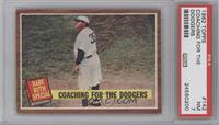 Coaching for the Dodgers (Babe Ruth) [PSA7]