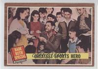 Greatest Sports Hero (Babe Ruth)