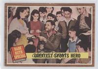 Greatest Sports Hero (Babe Ruth) [PoortoFair]