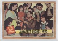 Greatest Sports Hero (Babe Ruth) (Green Tint)