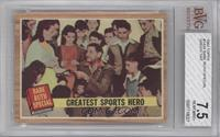Greatest Sports Hero (Babe Ruth) (Green Tint) [BVG 7.5]