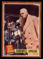Farewell Speech (Babe Ruth) [EX]
