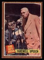 Farewell Speech (Babe Ruth) [EXMT]