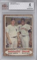 Managers' Dream (Mickey Mantle, Willie Mays) [BVG 4]