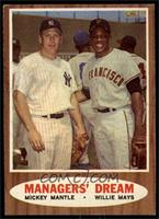 Managers' Dream (Mickey Mantle, Willie Mays) [EX MT]