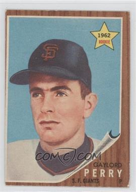 1962 Topps #199 - Gaylord Perry [Good to VG‑EX]