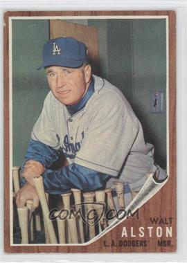 1962 Topps #217 - Walter Alston