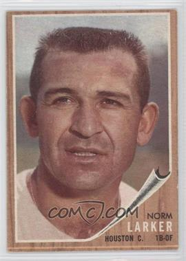 1962 Topps #23 - Norm Larker