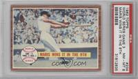 World Series Game #3, Maris Wins it in the 9th (Roger Maris) [PSA 8]