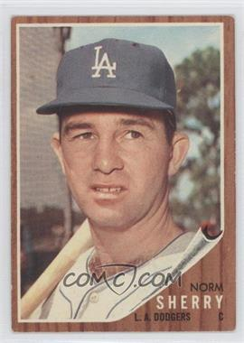 1962 Topps #238 - Norm Sherry