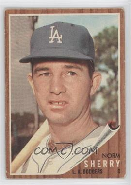 1962 Topps #238 - Norm Sherry [GoodtoVG‑EX]