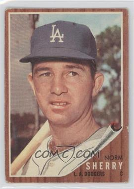 1962 Topps #238 - Norm Sherry [Good to VG‑EX]