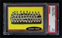 Detroit Tigers Team [PSA 9]