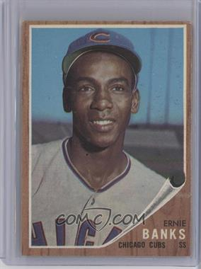 1962 Topps #25 - Ernie Banks