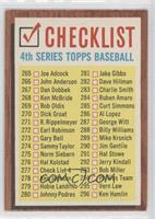 Checklist 4th Series