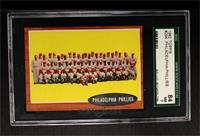 Philadelphia Phillies Team [SGC 80]