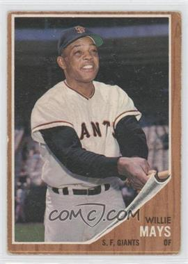 1962 Topps #300 - Willie Mays [Good to VG‑EX]