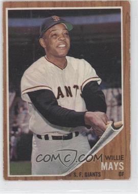 1962 Topps #300 - Willie Mays [GoodtoVG‑EX]