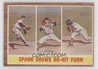 Spahn Shows No-Hit Form (Warren Spahn)