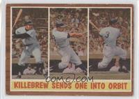 Killebrew Sends One into Orbit (Harmon Killebrew)