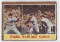 Musial Plays 21st Season (Stan Musial) [GoodtoVG‑EX]