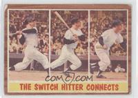 The Switch Hitter Connects (Mickey Mantle) [Poor]