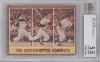 The Switch Hitter Connects (Mickey Mantle) [BVG5.5]